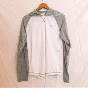 Men's Medium Puma T-Shirt Hoodie